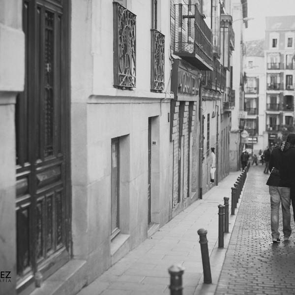 Maria + Enrique: un paseo por Madrid